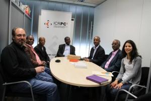 Investigadors d'Etiòpia a la seu de l'ICRPC